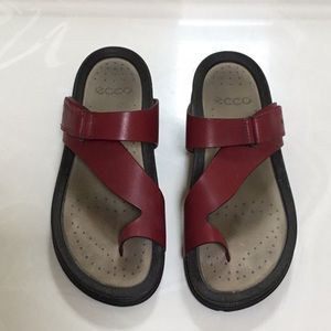 Ecco Women's Leather Sandals Size 10